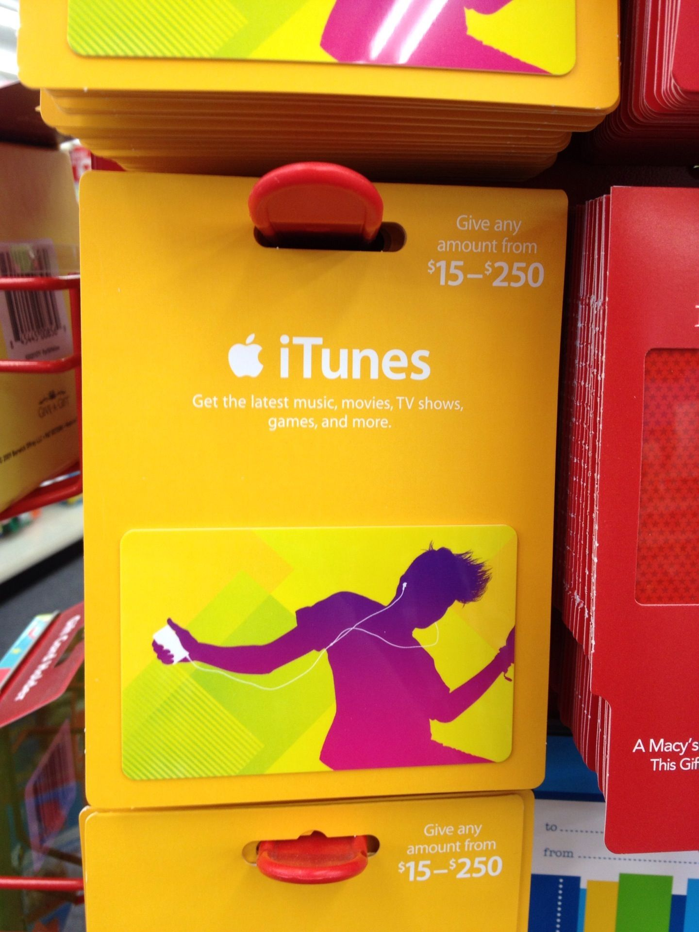 iTunes Gift Cards In Stores   Itouch Tech Talk