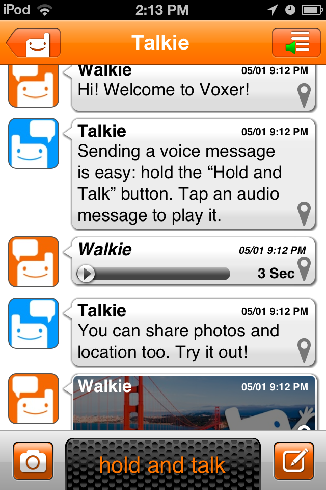 Voxer cheating